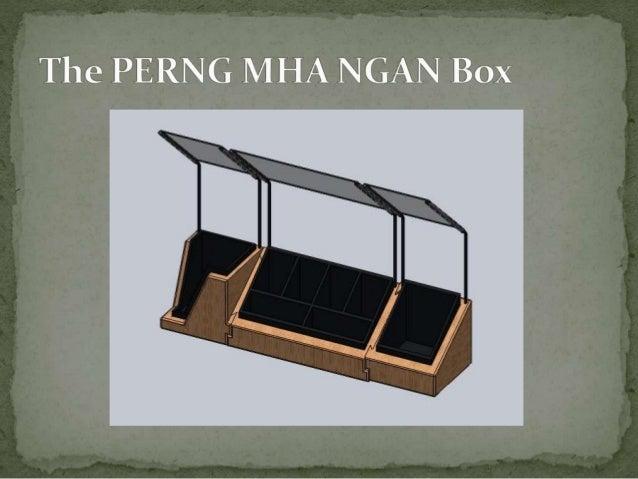 The PERN G MHA NGAN Box