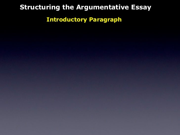 Sample Essay With Thesis Statement Structuring The Argumentative Essay  Health And Social Care Essays also Essays On Science The Persuasive Essay Essay Good Health