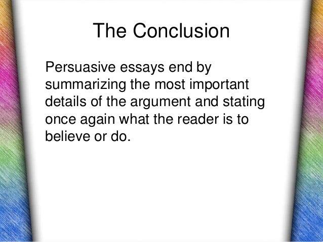 opposing positions essay