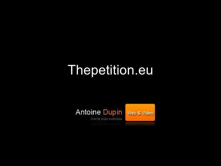 Thepetition.eu