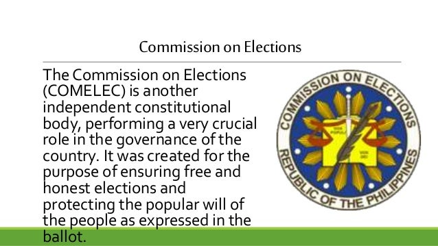 constitutional commissions of the philippines Philippine constitution 1987 article ii declaration of principles and  state policies principles section 5 the maintenance of peace and.