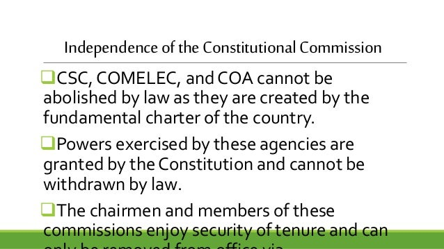 constitutional commissions of the philippines Update: what are the constitutional commission of the philippines constitution what is their role & function.