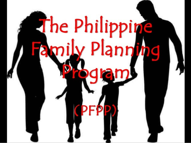 The philippine family planning program ppt for Family planning com