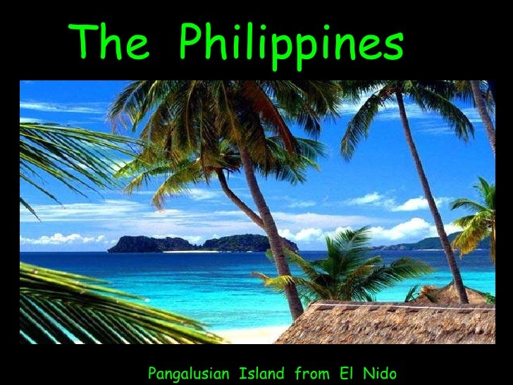 The  Philippines Pangalusian  Island  from  El  Nido