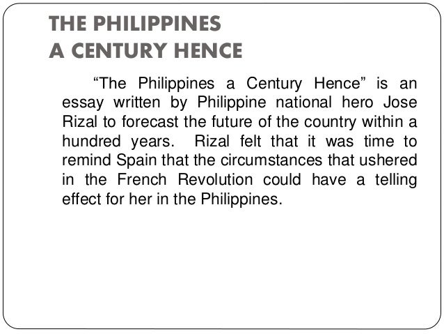 The Philippine Revolution Essay