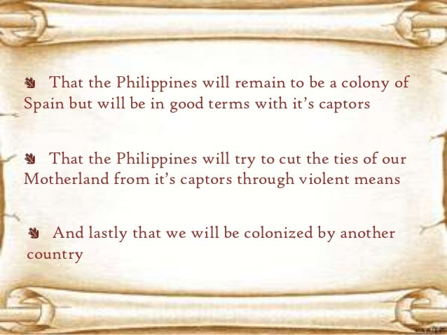 """analysis of philippines a century hence essay May i present to you my reflection about the work of our great national hero dr jose rizal """"the philippines a century hence"""" the point of view of my reflection paper is all about the philippines after a century or what will be the philippines after a century by concluding to the work of rizal """"the philippines a century hence."""