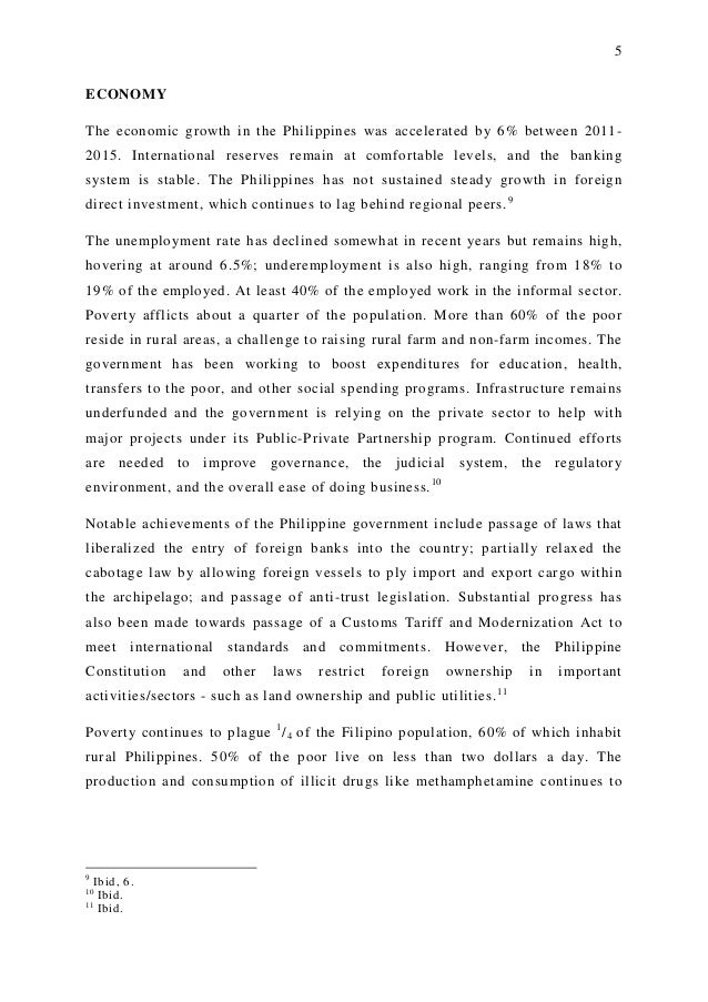 Term paper unemployment in the philippines Kozah Poverty in Asia and Africa  It s Relevance to the Philippines  A research  paper