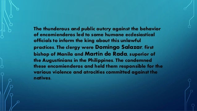 spanish colonization abuse in the philippines Catholicism rapidly spread during the early years of spanish colonialism, in part due to a lack of otherwise centralized religious institutions, other than islam in the south, which while initially popular, marcos' tenure is remembered as a dark period of deep corruption, violence, chaos, and repression of filipino society.
