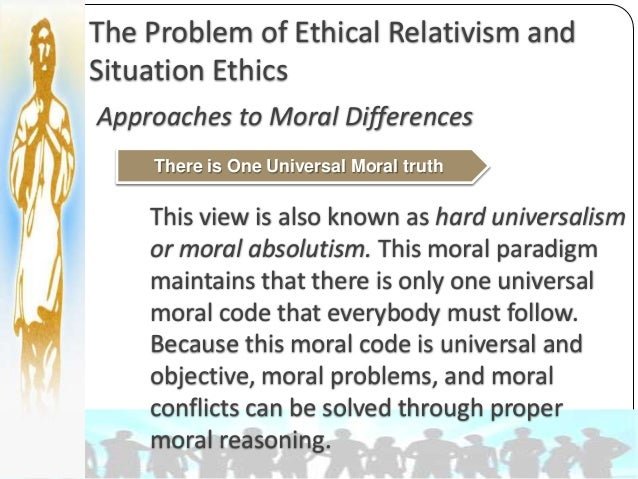 a comparison of moral absolutism moral nihilism and moral relativism Study guide: moral realism & relativism what these moral facts are absolutism: a form of moral realism which states that there is at least one moral rule or.