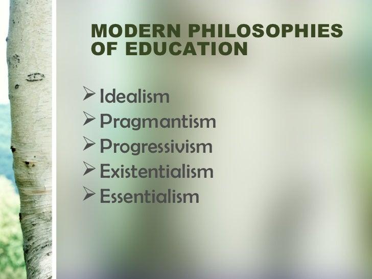 educational essentialism essay