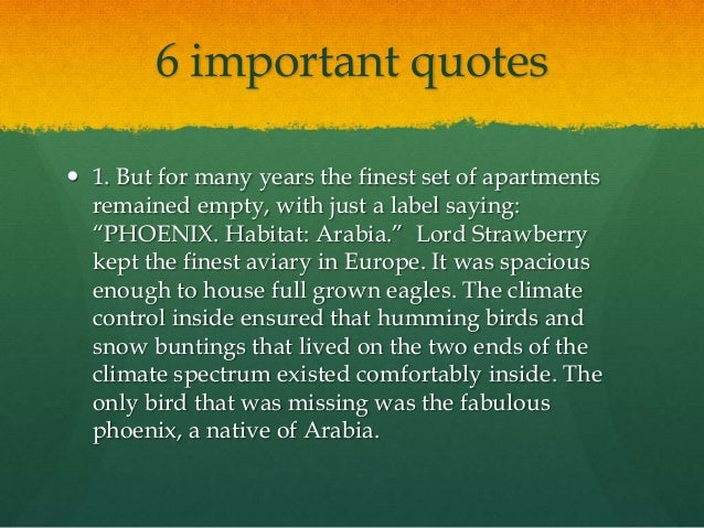 The phoenix by sylvia warner 9 6 important quotes voltagebd Images
