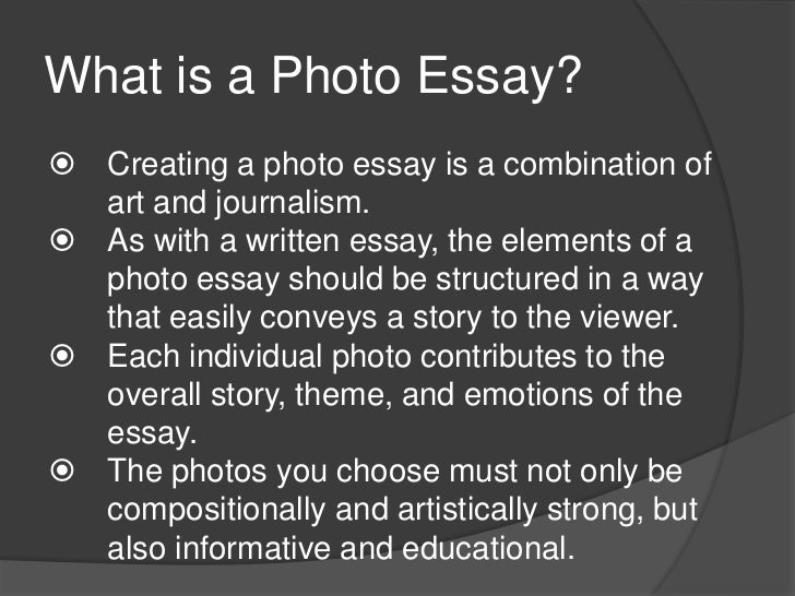 essays in photography 18 essay history of photography: introduction in the first part of this two-essay 'history of photography', penned so many months ago, i found.
