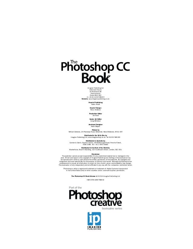 The photoshop CC book volume 1, 2014