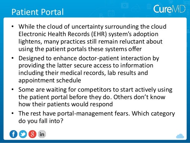 The Physician S Guide To Patient Portals Don T Waste Time