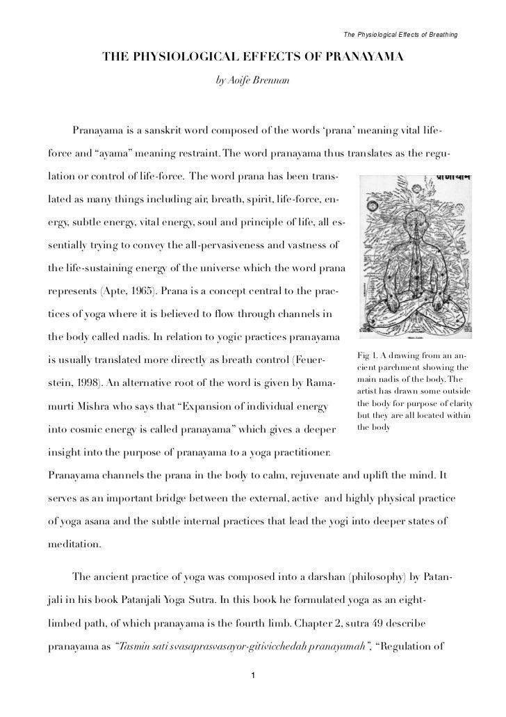 Pranayama research papers