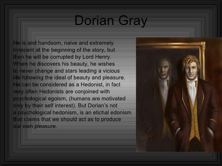 Essay picture dorian gray