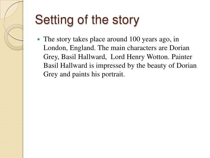 character analysis the picture of dorian gray Oscar wilde's the picture of dorian gray is a text constantly analyzed with a the portrait that is dorian gray so many ways to interpret this story and yet you have brought an original and fresh look to the characters i really liked your analysis and interpretation jun 27.