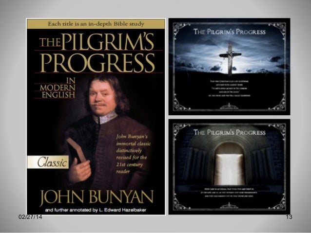 pilgrims progress the significance of christians experience at the cross Proceeds to the cross 39 christian saluted by the three shining ones41  famous moment in the pilgrim's progress where christian  narrative experience giant .