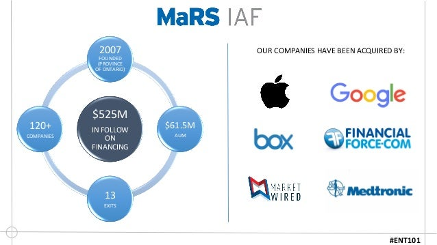 OUR  COMPANIES  HAVE  BEEN  ACQUIRED  BY:        $525M   IN  FOLLOW   ON   FINANCING   2007   ...