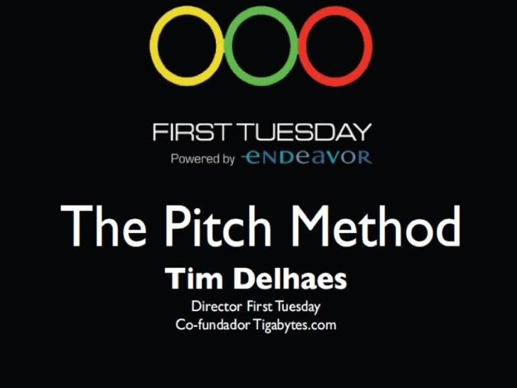 """The Pitch Method es una metodología para desarrollar presentaciones efectivas de ideas, proyectos y emprendimientos. """" The..."""