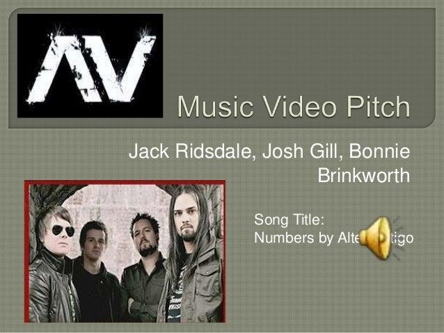 Jack Ridsdale, Josh Gill, Bonnie Brinkworth Song Title: Numbers by AlterVertigo