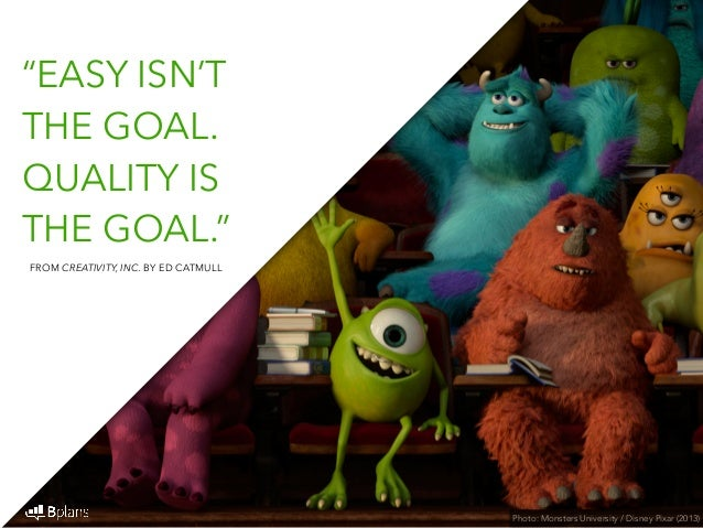 The pixar way 37 quotes on developing and maintaining a creative com by ed catmull 31 voltagebd Choice Image