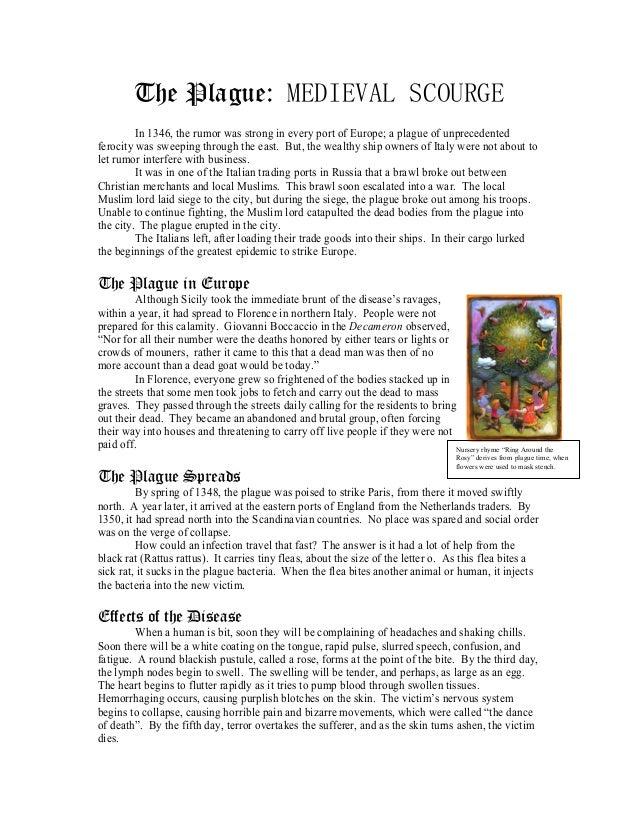 The Plague Worksheet