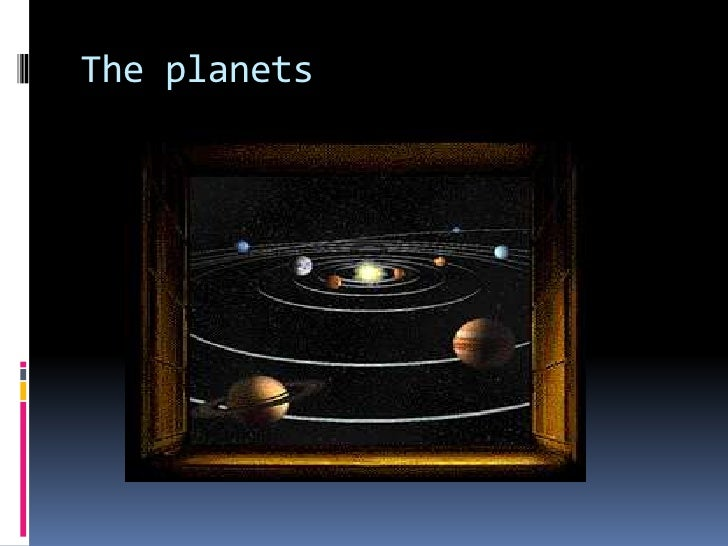 Theplanets<br />