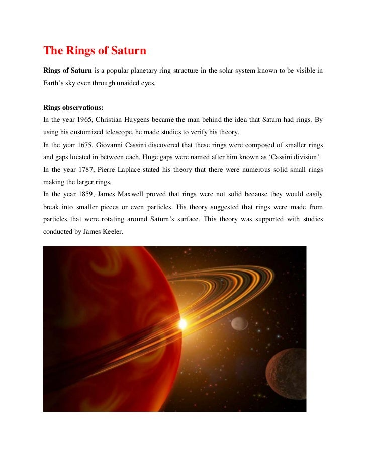 a description of planet saturn Saturn has long fascinated people because of the mystique of its rings, which circle the planet's equator and make it one of the most visually beautiful sights in.