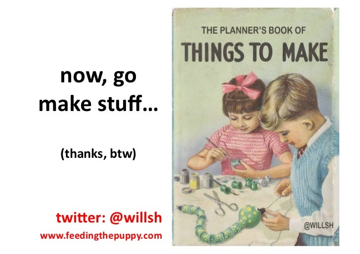 The planner's book of things to make