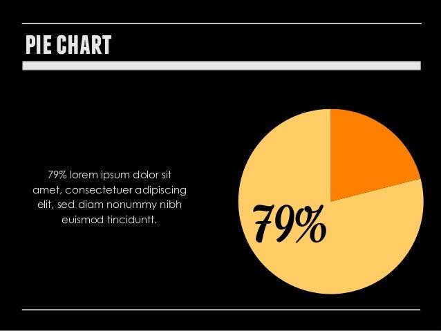 pie chart  79% lorem ipsum dolor sit amet, consectetuer adipiscing elit, sed diam nonummy nibh euismod tinciduntt.  79%