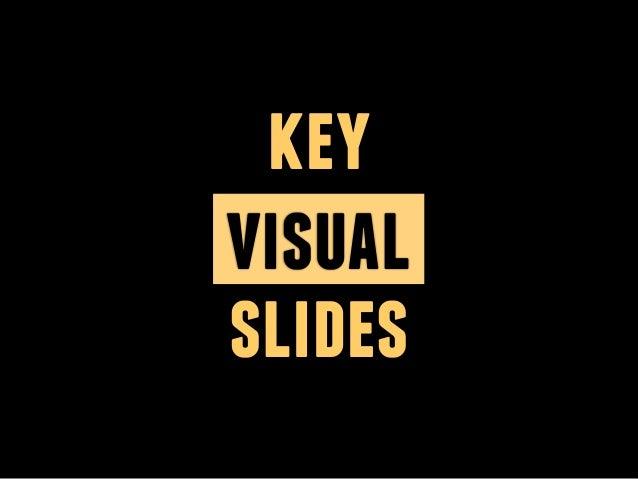 key visual slides