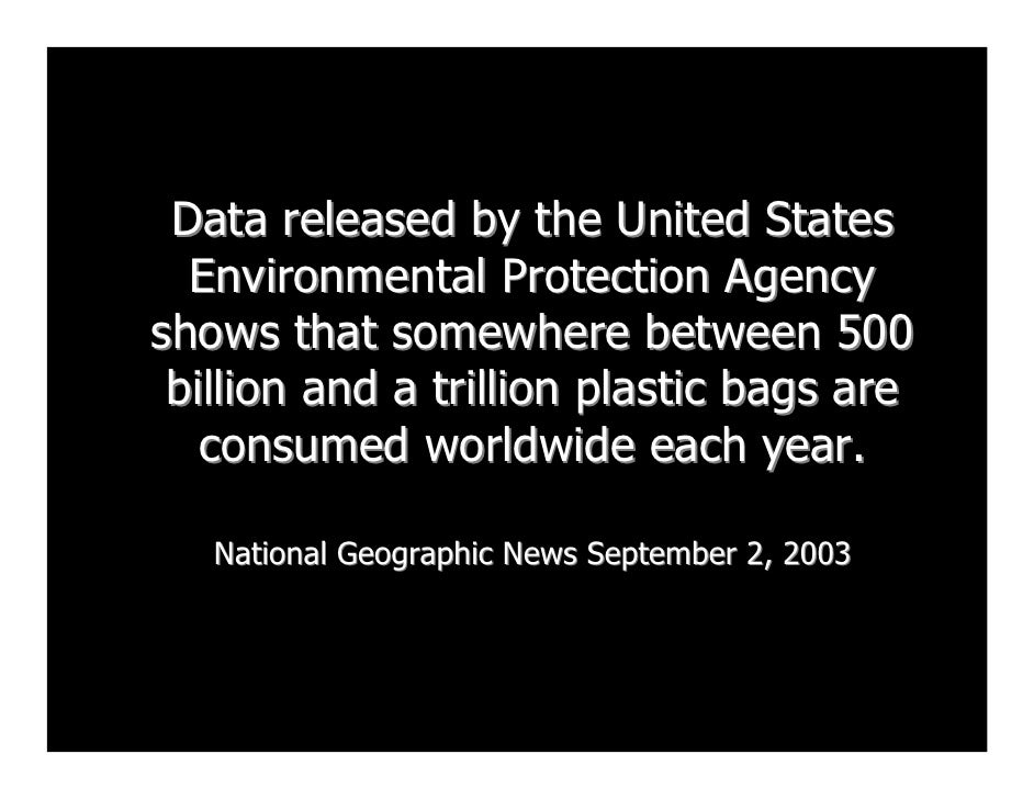 Data released by the United States   Environmental Protection Agency shows that somewhere between 500  billion and a trill...