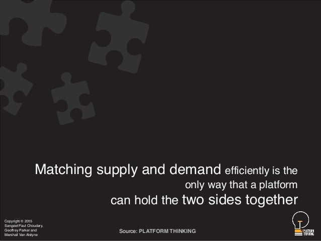 matching supply and demand Editions for matching supply with demand: an introduction to operations management: 0073525200 (hardcover published in.