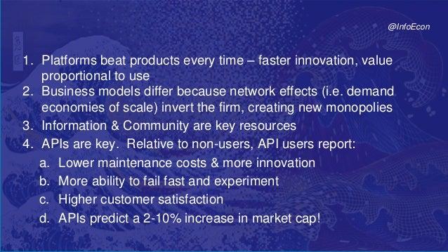 71© 2017 Parker & Van AlstyneTwitter: @InfoEcon :: mva@bu.edu :: PlatformEconomics.com 1. Platforms beat products every ti...