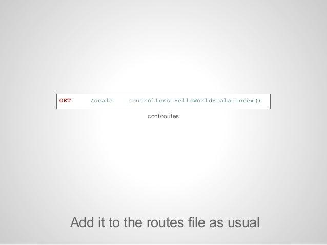 http://localhost:9000/scala