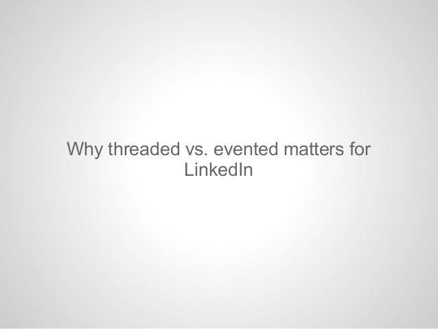 LinkedIn uses a Service Oriented ArchitectureInternet LoadBalancerFrontendServerFrontendServerFrontendServerBackendServerB...