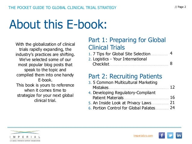 Ebook the pocket guide to global clinical trial strategy the pocket guide to global clinical trial strategy 6 critical components of an effective global strategy 2 fandeluxe Choice Image