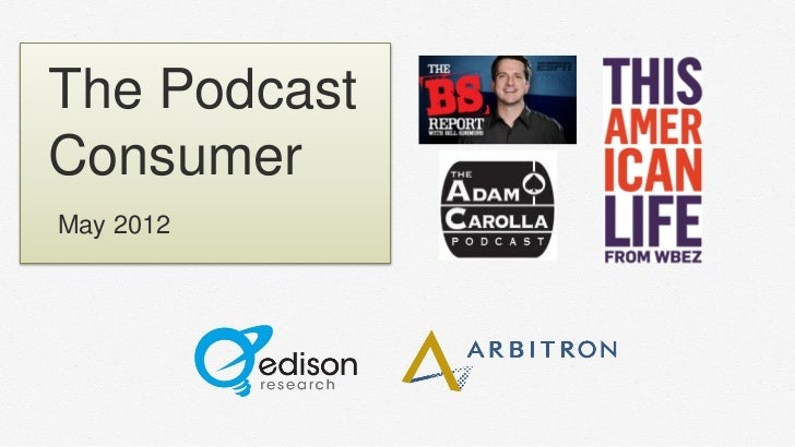 The PodcastConsumerMay 2012