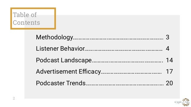 The Podcast Trends Report 2019 Slide 2