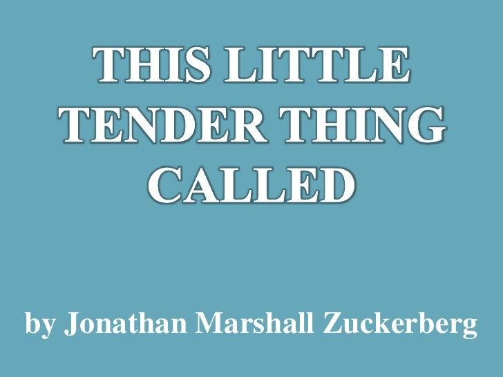 by Jonathan Marshall Zuckerberg