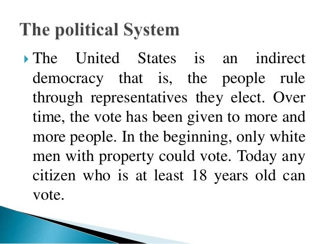 an analysis of the united states is it a legitimate democracy The united states is arguably the world's oldest existing democracy and apply the latest data analysis to redraw maps.