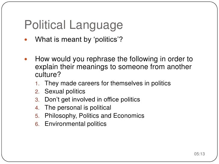 1. Language and the Rise of Nationalism