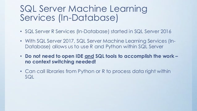 The Polyglot Data Scientist - Exploring R, Python, and SQL