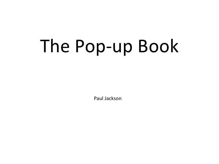 The Pop-up Book     Paul Jackson