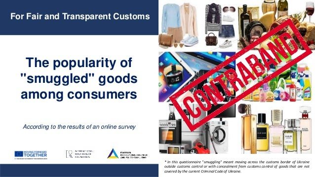 "The popularity of ""smuggled"" goods among consumers According to the results of an online survey For Fair and Transparent C..."
