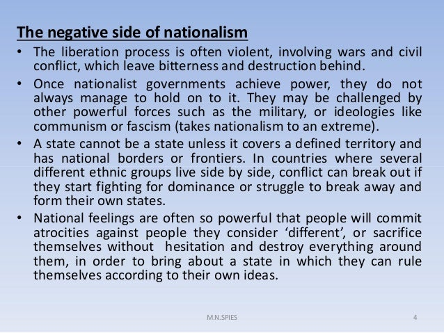 is nationalism good or bad essay
