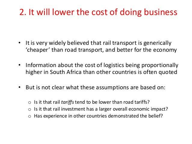 positive impacts of transportation technology