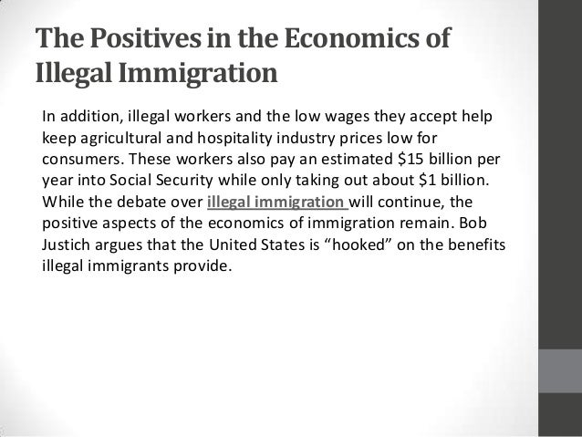 An overview of the united states phenomena of illegal immigration
