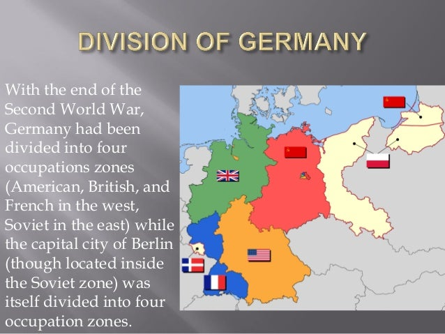 The post war world part 2 15 with the end of the second world war germany gumiabroncs Image collections
